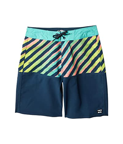 Billabong Kids Fifty50 Pro Swim Shorts (Big Kids) (Seagreen) Boy