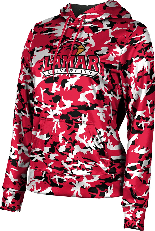 ProSphere Lamar University Girls' Pullover Hoodie, School Spirit Sweatshirt (Camo)