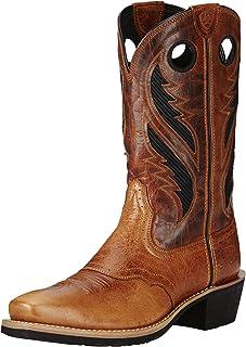 حذاء رعاة البقر الغربي للرجال من Ariat Heritage Roughstock Venttek