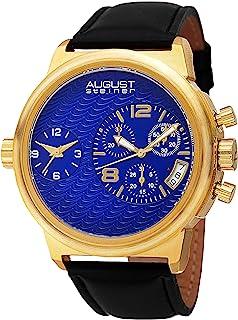 August Steiner Dress Watch Analog Display Quartz for Men AS8151YGBU