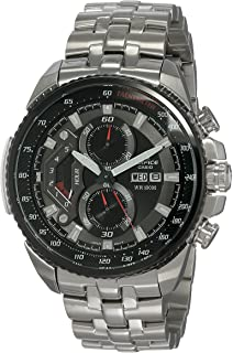 Casio Edifice Chronograph Black Dial Men's Watch EF-558D-1AVDF(ED436)