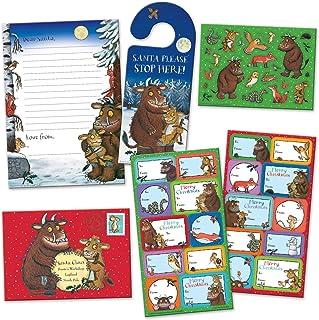 Paper Projects 01.70.24.066 'The Gruffalo's Child' Boże Narodzenie list do Świętego Mikołaja i etykiety upominkowe pakiet ...