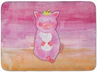 "Caroline's Treasures Pig Watercolor Floor Mat, BB7416RUG, Multicolor, 19"" x 27"""