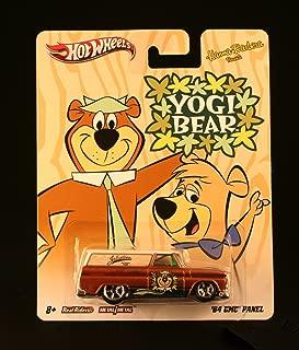 Hot Wheels '64 GMC PANEL YOGI BEAR Hanna-Barbera Presents 2011 Nostalgia Series 1:64 Scale Die-Cast Vehicle