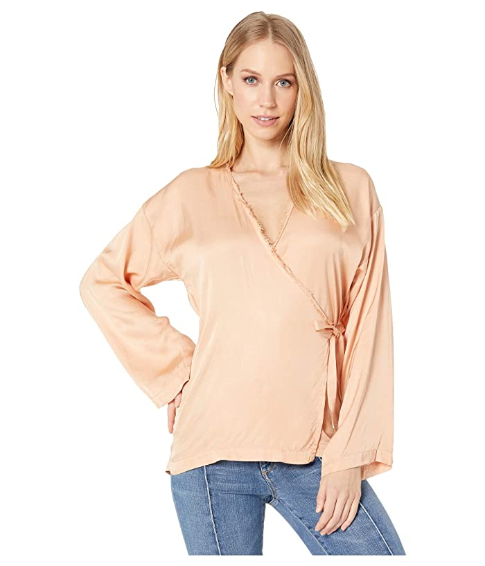 CALi DREAMiNG Poet Top (Beach Summer Luxe) Women's Blouse
