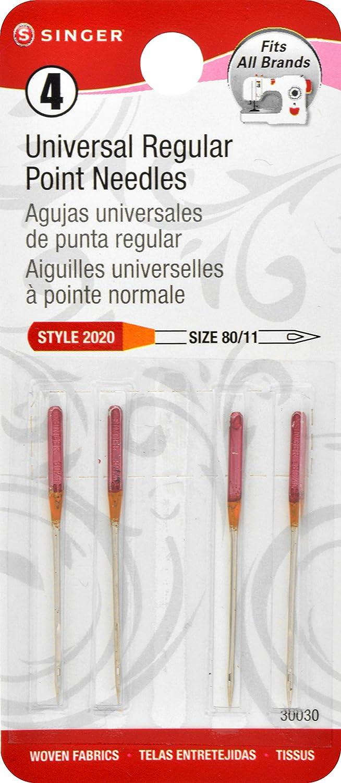 SINGER 30030 4 Regular Needles Super special price Machine Albuquerque Mall Point