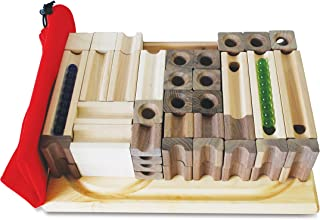 tedco wooden block & marble master set