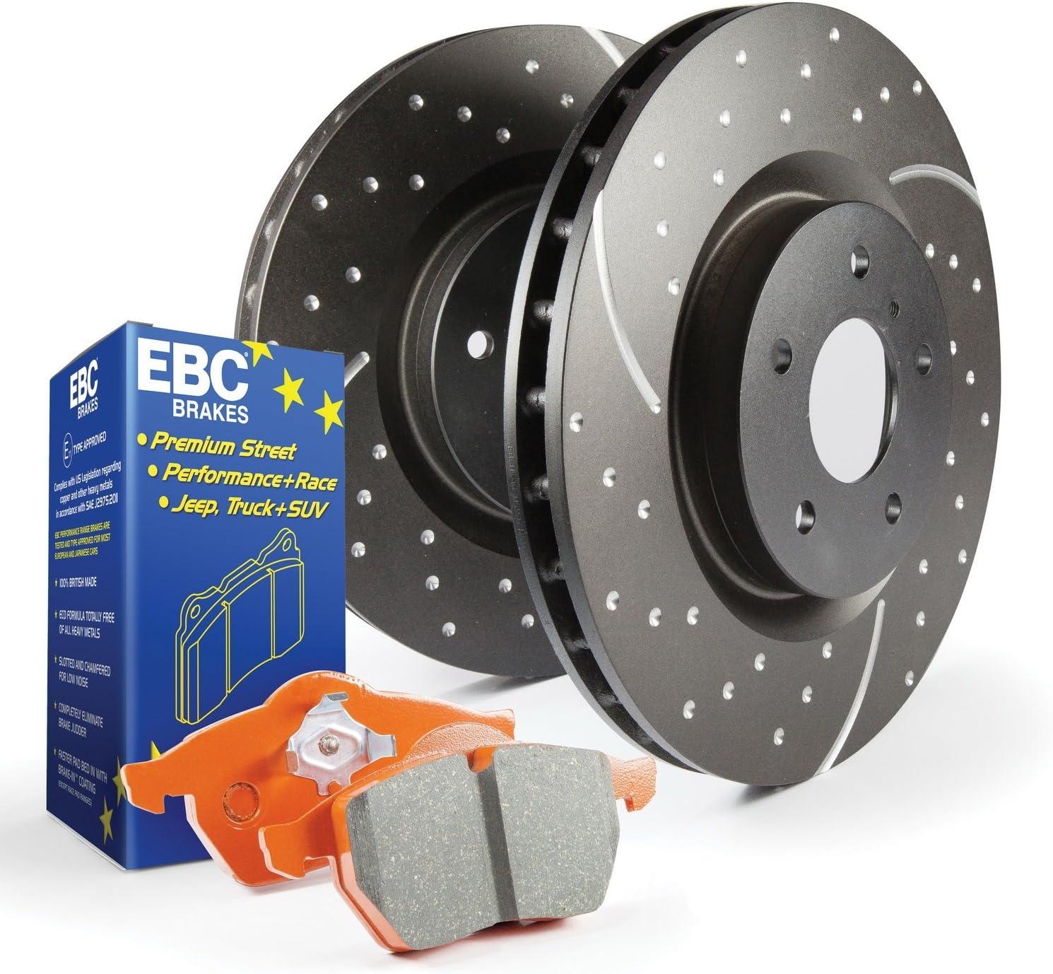 EBC S8KF1196 Be super welcome 1 year warranty Kit Brake