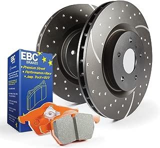 EBC BRAKES S8KF1022 S8 Kits Orange Stuff And Gd Rotors