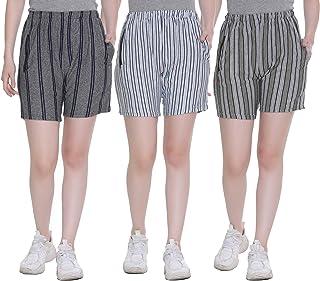 SHAUN Women Short (107WS3_P$_Pack of 3)