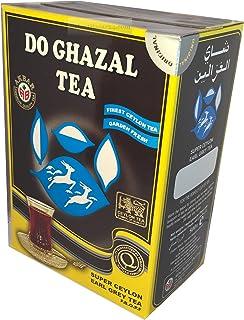 Do Ghazal Tee- als Loser Tee und Beutel-Tee, in Schwarztee, Grünertee und Kräutertee Earl Grey, 500 Gramm