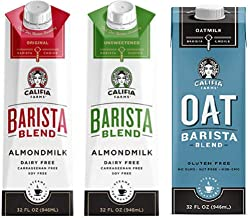 Califia Farms Barista Blend Non-Dairy Oat and Almond Milk Variety Pack- (3) 32 oz. - Dairy Free | Plant Based | Vegan | Non-GMO