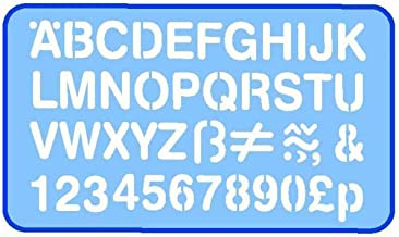 Helix Professionele gradenboog 20mm Letters Stencil