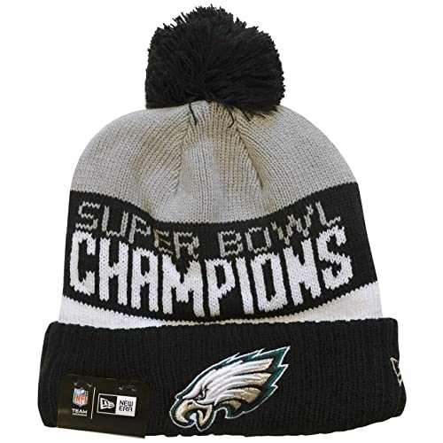004f097c878 New Era Philadelphia Eagles Super Bowl LII 52 Champions Parade Sport Knit  Hat Cap Beanie