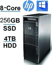 HP Z600 2 X Quad Xeon upto 3.33GHz, 256GB SSD, 4TB HDD, 24GB RAM,USB 3(Renewed)