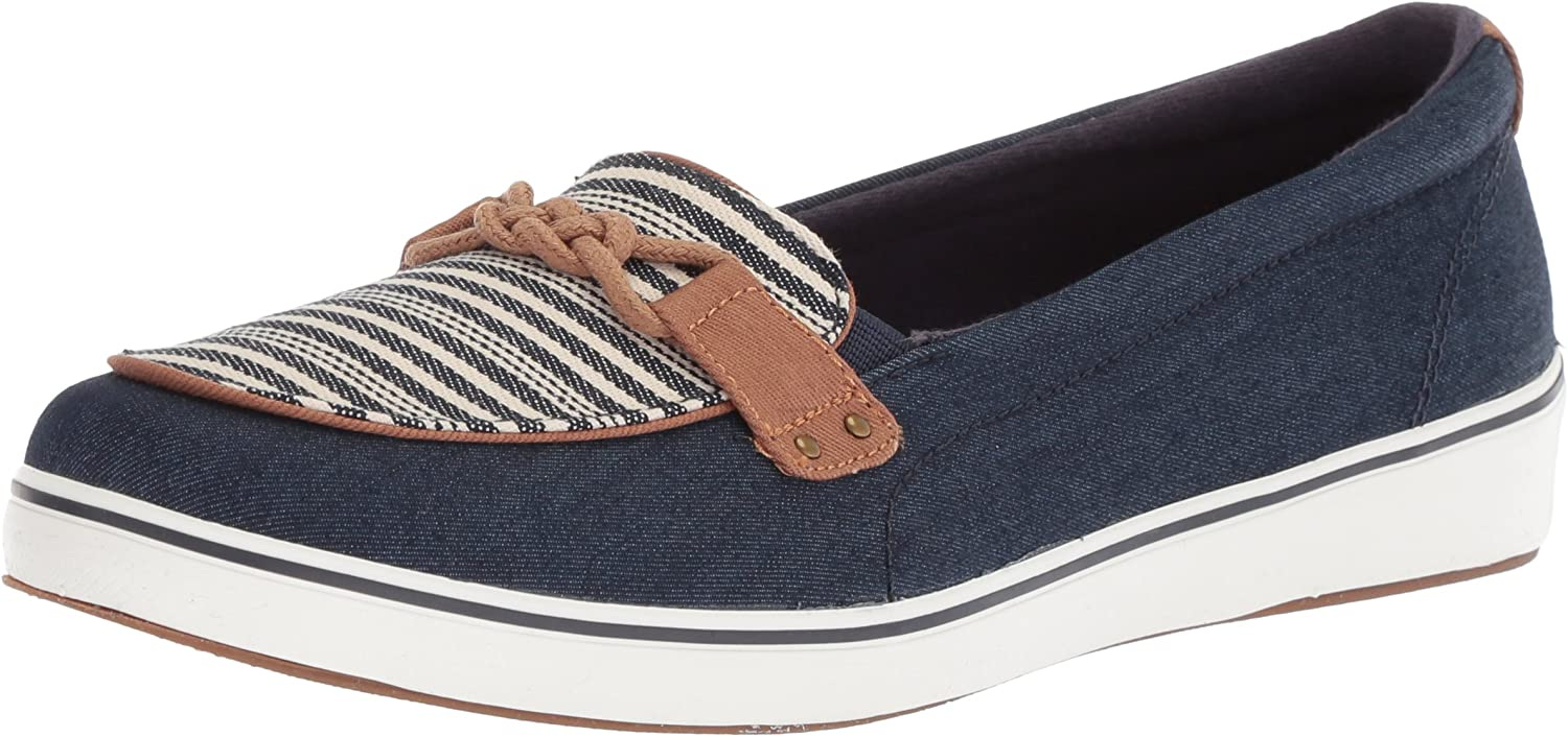 Keds Grasshoppers Women's Windham Denim Americana Stripe Sneakers