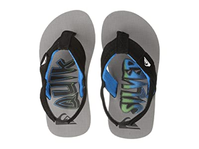Quiksilver Kids Molokai Layback (Toddler) (Black/Blue/Grey) Boys Shoes