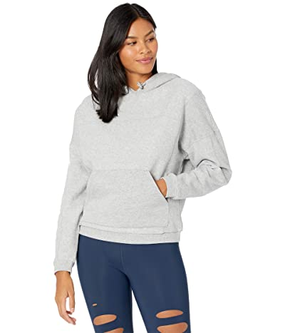ALO Being Hoodie (Dove Grey Heather) Women
