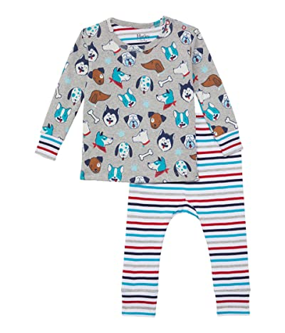 Hatley Kids Cute Pups Organic Cotton Pajama Set (Infant)