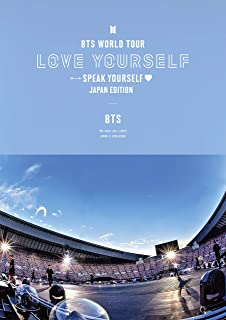 BTS WORLD TOUR 'LOVE YOURSELF: SPEAK YOURSELF' - JAPAN EDITION(通常盤)[Blu-ray]