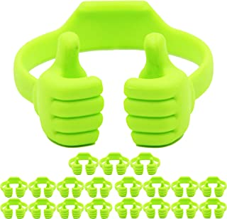 Honsky Cell Phone Tablet Stands (20 Packs): Honsky Thumbs-up Cellphone Holder, Tablet Display Stand, Mobile Smartphone Mou...