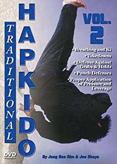 Traditional Hapkido #2 Breathing Ki Takedowns Defenses DVD