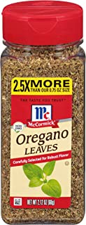 McCormick Oregano Leaves, 2.12 oz