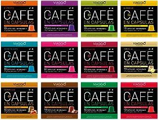 comprar comparacion Viaggio Espresso Cápsulas de café compatibles con máquinas Nespresso Mix colección (120 Cápsulas)