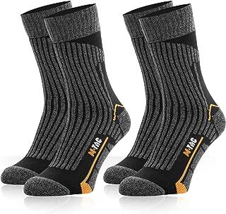 M-Tac Mens Boot Socks Tactical Military Hiking Work 2 Pair Pack