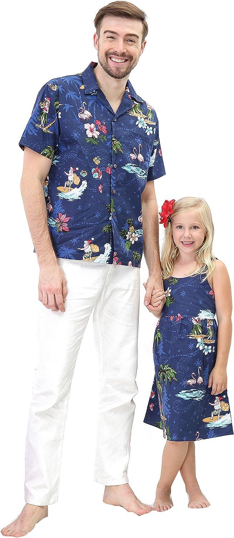 Virginia Beach Mall Matching Indianapolis Mall Father Daughter Hawaiian Luau Men Outfit Shir Christmas