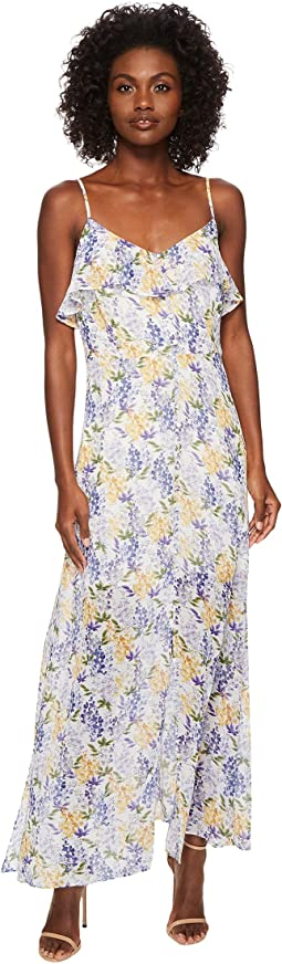 Liza - Sleeveless Floral Maxi Dress