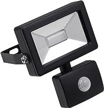 Meister LED-buitenspot - 10 Watt - voor vaste installatie - bewegingsmelder - 10 m bereik - spatwaterdicht - 800 lumen / b...