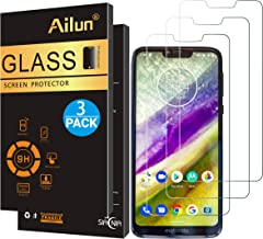 Ailun Screen Protector Compatible with Moto G7 Power 3 Pack 9H Hardness Tempered Glass Screen Protector for Motorola Moto G7 Power Bubble Free Anti Scratch Oil Stain Coating Case Friendly