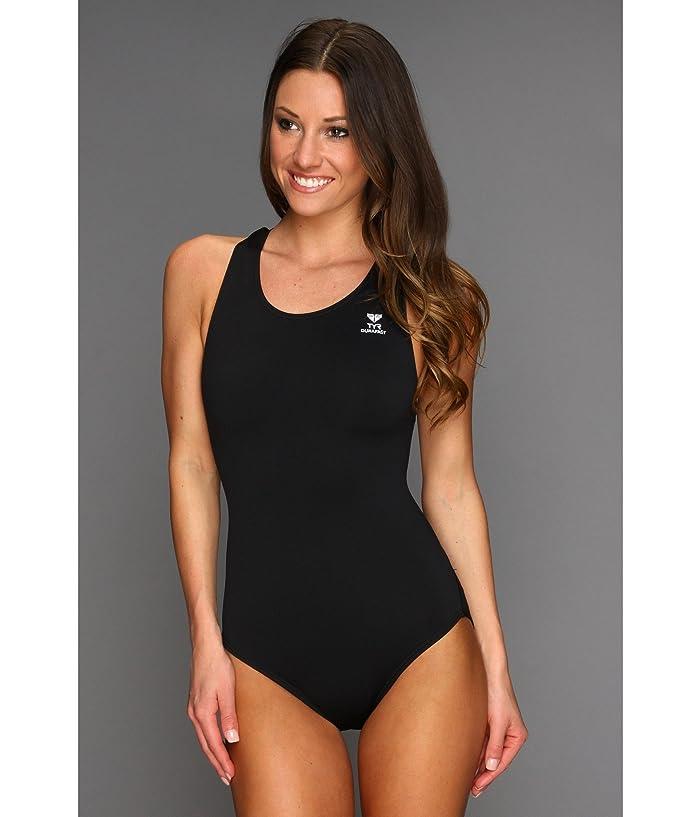f683a74e054 TYR Durafast Elite™ Solid Maxfit Swimsuit | Zappos.com