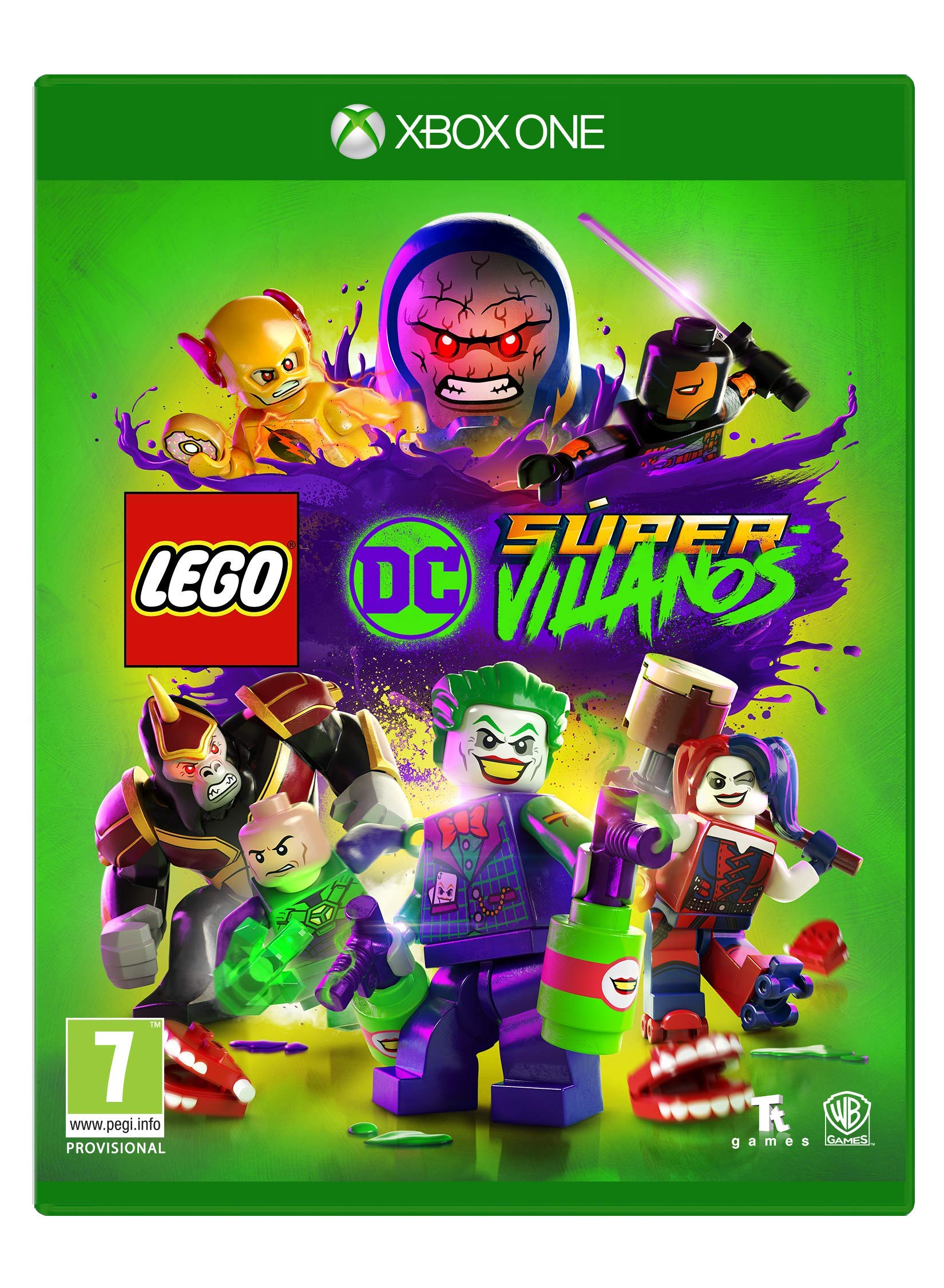 Lego DC Super-Villans Xbox One, Edición Estándar: Amazon.es ...