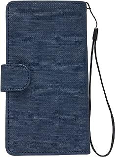 【Salon de M】ケース 手帳ケース カバー マグネット式 左利きて専用 (ZC-9-2) (Xperia X Compact (SO-02J))