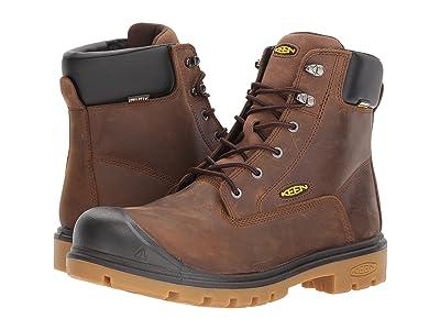 Keen Utility Baltimore 6 WP Steel Toe (Brown) Men