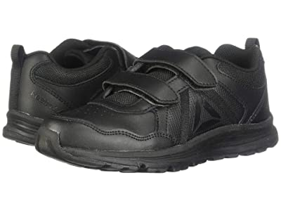 Reebok Kids Almotio 4.0 LTR 2V (Little Kid) (Black) Kids Shoes