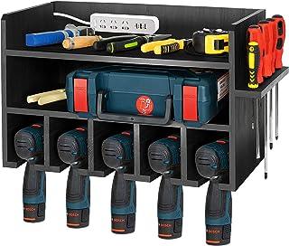 T-SIGN Power Tool Storage Organizer,Black Drill Holder...
