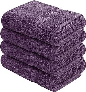 lavender decorative bath towels