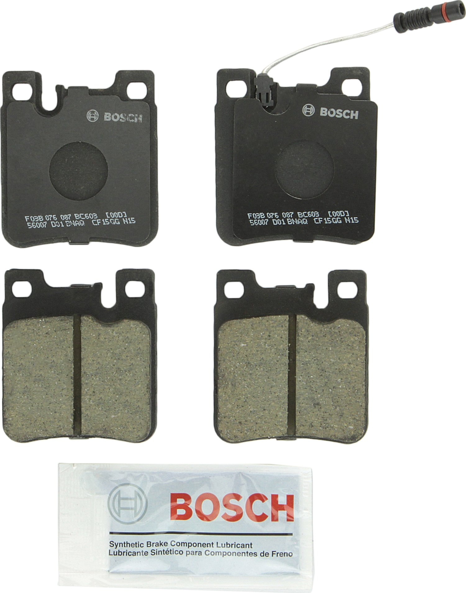 Bosch BE1107 Front Disc Brake Pads