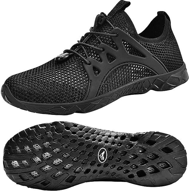 Women's Water Shoes Quick Drying Aqua for Water Sports Slip on Walking Shoes
