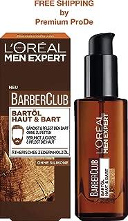 L'ORÉAL Men Expert - Barber Club Beard Oil Skin & Beard, 30 ml
