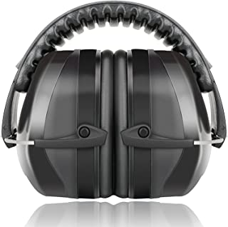 Fnova 34dB Highest NRR Safety Ear Muffs – Professional Ear Defenders for Shooting,..