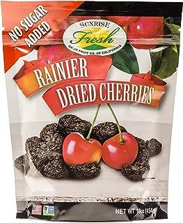 Dried Rainier Cherries, 16oz Bag, No Added Sugar, No Added Preservatives, Sunrise Fresh LLC