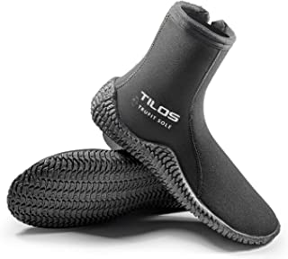 TruFit Dive Boots, First Truly Ergonomic Scuba Booties, Available in 3mm Short, 3mm Titanium, 5mm Titanium, 5mm Thermowall, 7mm Titanium