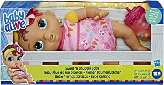 Baby Alive Doll - Sweet n Snuggly Soft Baby Doll incl accessories - First Baby Doll - Nuturing dolls and toys for kids, gi...