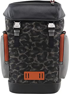 Men's Ranger Backpack With Animal Camo Script Print, Style 1902
