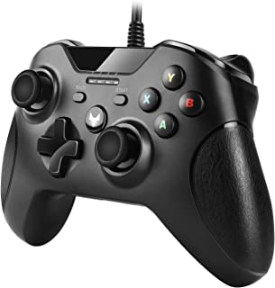 TNP USB Wired Gamepad Controller for PC & Xbox 360 - Joystick Joypad Supports XInput Mode, Shock Vibration Feedback for PC...
