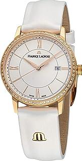 Maurice Lacroix - Eliros EL1094-PVPD1-112-1 Reloj de Pulsera para mujeres con diamantes genuinos